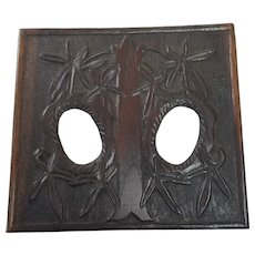Rustic Folk Art Wooden Frame