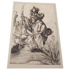 S, Christopher M. Schongauer 19th century Armand Durand