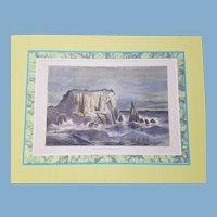 view of  Marin County san Francisco bay California   1872 United Sates