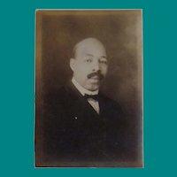 Cabinet Card, Portrait of a Gentleman