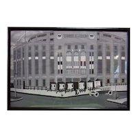 New York Yankee Stadium - Acrylic on Poster Paper
