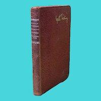 Gustaf Froding - Efterskord - Leather Bound Book in Original Swedish