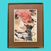 "Oscar Rayneri (Cuban) - Watecolor on Paper - ""Nature's Carpet"""