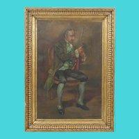 Italian early 20th Century Oil on Canvas - Signed G. Alexo