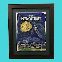 New Yorker Magazine Cover Art - Original Watercolor