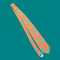 1970's Garo Yepremian Miami Dolphins Neck Tie