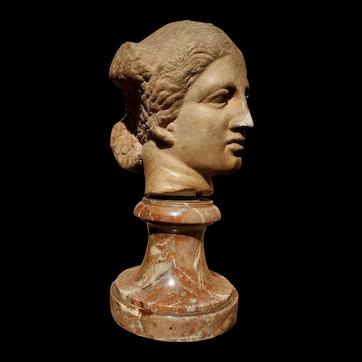 Marble Head of Aphrodite