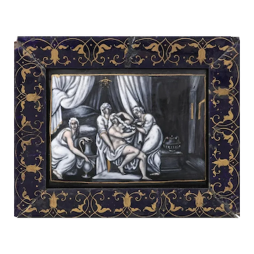 Limoges Plaquette of Venus
