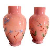 1900s Vintage Hand Painted Vases