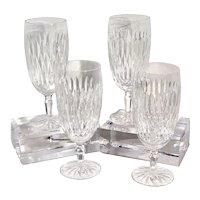 Traditional Waterford Rosemare Goblets Ice Tea Glass / Water Goblets