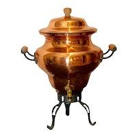 Vintage Copper Hot Water Pot