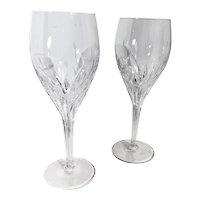 1980s Wine Glasses Noritake MoonDust