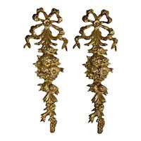 English Traditional Solid Brass Wall Hanging