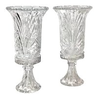 Hurricane Candle Holders With Bases Pillar / Taper Candles