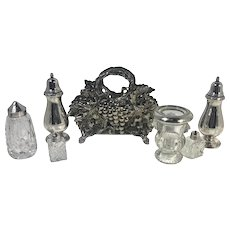 Vintage Silver Plated Dining Accessories