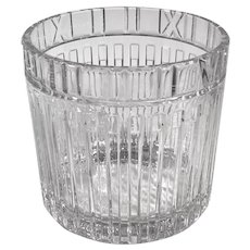 Tiffany & Co. Atlas Crystal Champagne Holder / Ice Bucket
