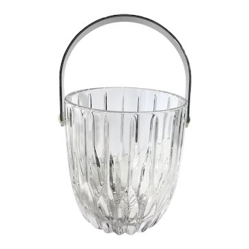 Vintage Cut Crystal Mikasa Traditional Ice Bucket or Container Contemporary Bucket