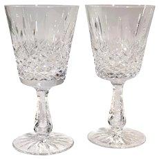 Vintage Waterford Kenmare Water Glass Crystal