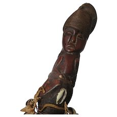 Briarwood African Seashells & Horn Cane