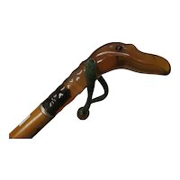 Fruit Wood Bakelite Bird Cane