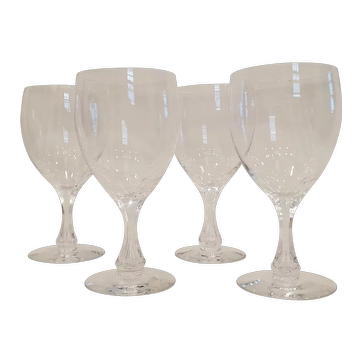 4 Piece - Vintage White Wine  Cocktail Glasses