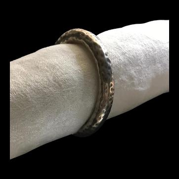 Large Sterling Silver Dangle Bracelet