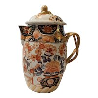 Early 20th Century Hand Painted Chinese Cider Jug with Dog of Fo