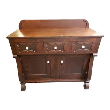 19th Century Transitional Empire Sideboard