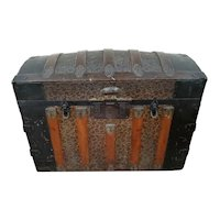 1900-1910 Dome Top, Steamer Trunk