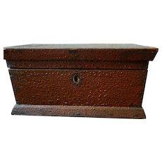 Antique Lock Box with Unique Patina