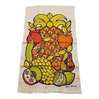 Vintage Georges Briard Tea Towel