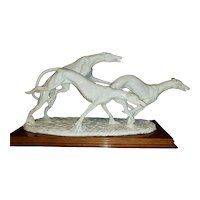 Italian Racing Greyhounds by Dear Sculpture Artistiche Italy