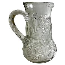 EAPG Millersburg Glass Co. Pitcher