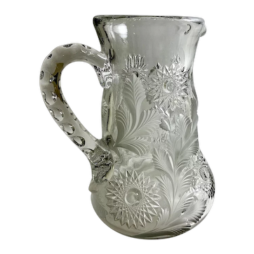 EAPG Early American Pressed Glass Millersburg Glass Co. Pitcher 1909