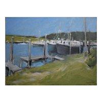 Original oil on canvas, Cape Cod #1