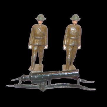 Crescent Toys unboxed set 698 Carrying Party Light Gun Unit