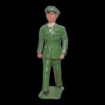 Crescent Toys 1950s lead Dan from Dan Dare VGC 1/32 scale figure
