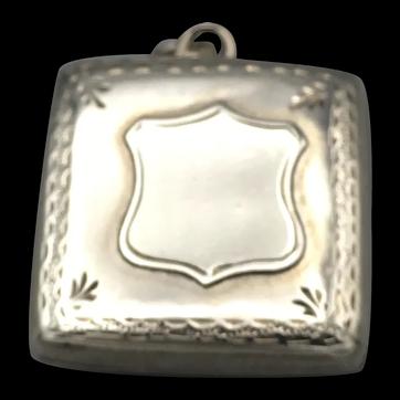 Silver Locket Chester 1902