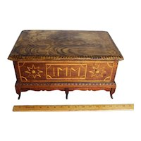 Large  Marquetry Box