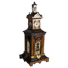 Folk Art Clock Tower