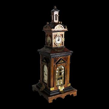 Folk Art Clock Tower