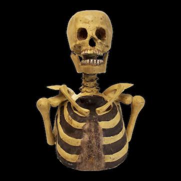 Paper Mache Skeleton Odd Fellows
