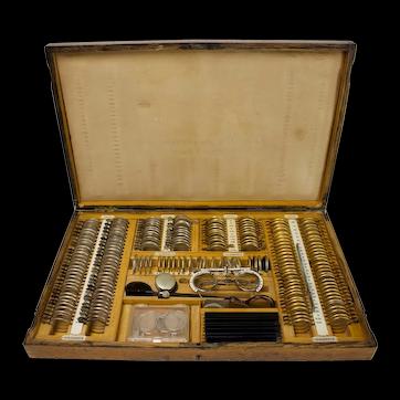 Vintage Optometrist Lens Kit