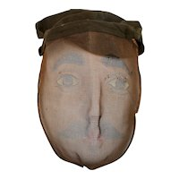 Vintage Mesh Mask / Masons & Odd Fellows
