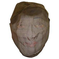 Vintage Mesh Mask / Masons & Odd Fellows
