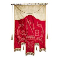 Vintage Odd Fellows Banner