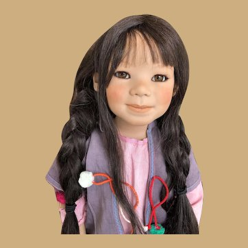 Annette Himstedt YUFANG Doll  2005 Kinder Collection GORGEOUS!