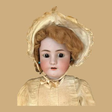 Heinrich Handwerck Simon Halbig Bisque Head Doll Dolly Face huge with Flirty eyes!