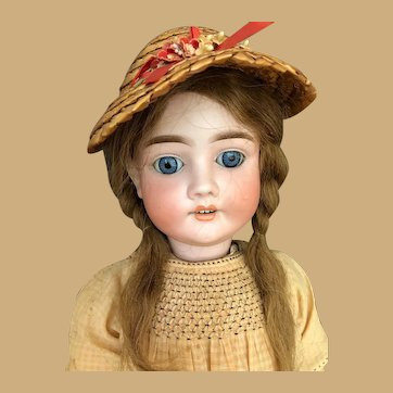 JD Kestner Kley & Hahn Bisque Doll  mold 282 KH Walkure  Stunning