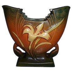 Roseville Pottery Zephyr Lily Vase 205-6 No damage or Crazing